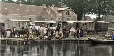 Zigeuners_Utrechts_jaagpad_voor_1900